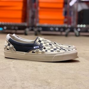 Vans Vault Slip On Bricolage Mens NEW Sz 12
